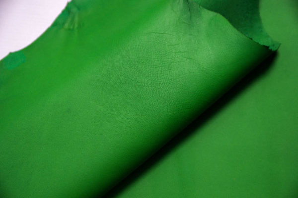 Кожа МРС, зеленая, 33 дм2. -109372