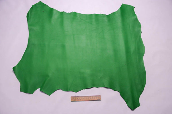 Кожа МРС, зеленая, 36 дм2. -109373
