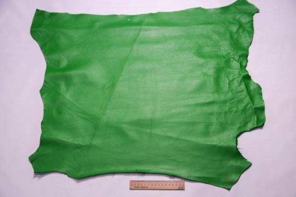 Кожа МРС, зеленая, 42 дм2. -109374