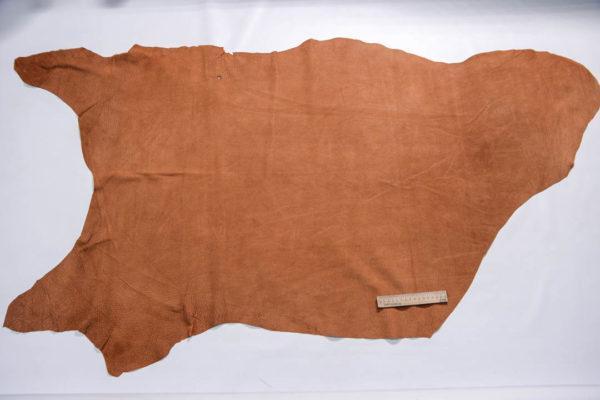 Кожподклад свиной (спилок), виски, 11,25 фут (105 дм2).-401059