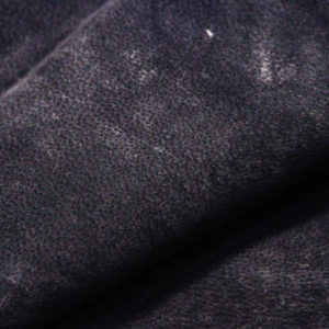 Кожподклад свиной (спилок), чёрный, 67 дм2.-401067