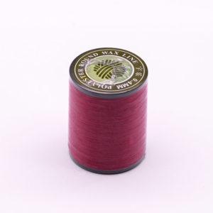 """Нить """"GALACES"""" вощеная круглая плетеная с сердечником 0,4 мм. Марсала-m020"""