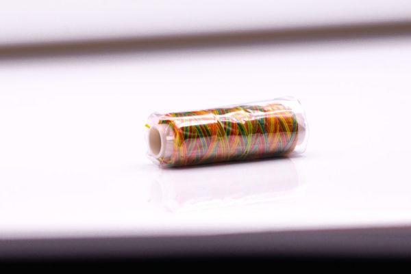 """Нить """"GALACES"""" вощеная круглая 0,55 мм. Мультицвет-s063"""