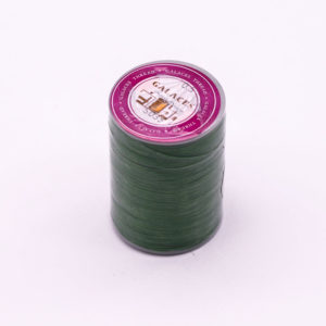 """Нить """"GALACES"""" вощеная круглая плетеная с сердечником 0,5 мм. Зеленая-s035"""