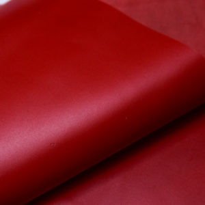 Кожа КРС, красная, 191 дм2.-D1-35