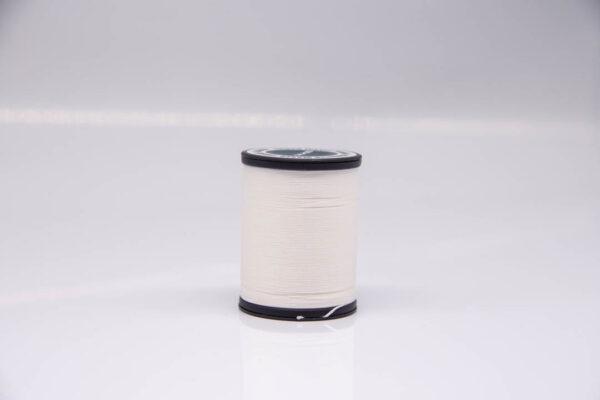 """Нить """"GALACES"""" вощеная круглая 0,45 мм. Белая-s000"""