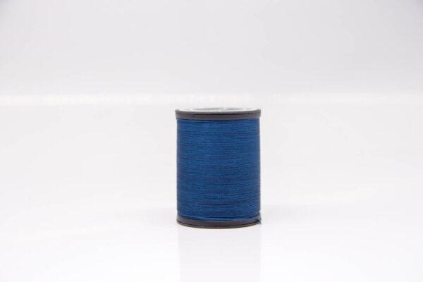 """Нить """"GALACES"""" вощеная круглая 0,45 мм. Синяя-s075"""