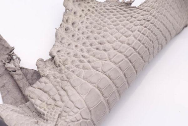 Кожа крокодила, серая- kr-161