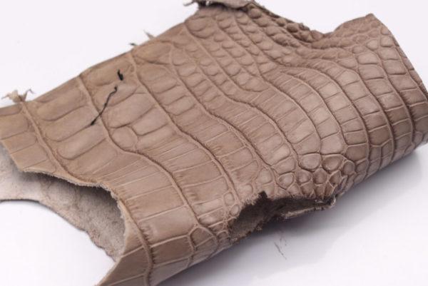 Кожа крокодила, какао- kr-89
