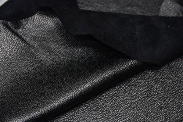 Кожа КРС, флотар, черная, 134 дм2.-D1-44