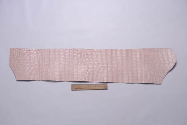 Кожа КРС с тиснением под кроко, розовая, Tuscania S.p.A. -109463