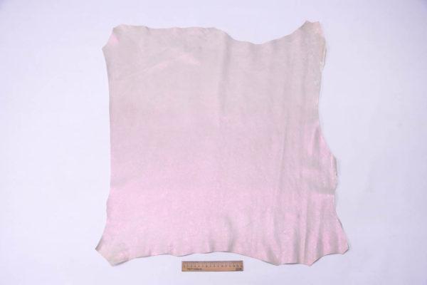 Кожа МРС, розовый перламутр, 48 дм2, Russo di Casandrino S.p.A. -109487