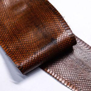 Кожа змеи, коричневая, 90х13 см.-zm4-126