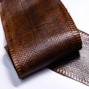 Кожа змеи, коричневая, 89х13 см.-zm4-128