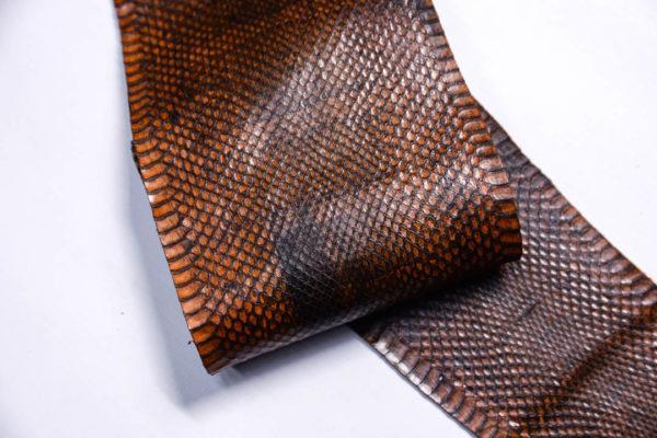 Кожа змеи, коричневая, 85х12 см.-zm4-133