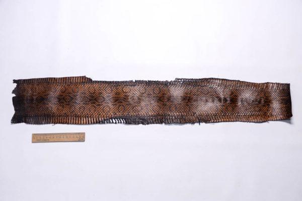 Кожа змеи, коричневая, 83х15 см.-zm4-143