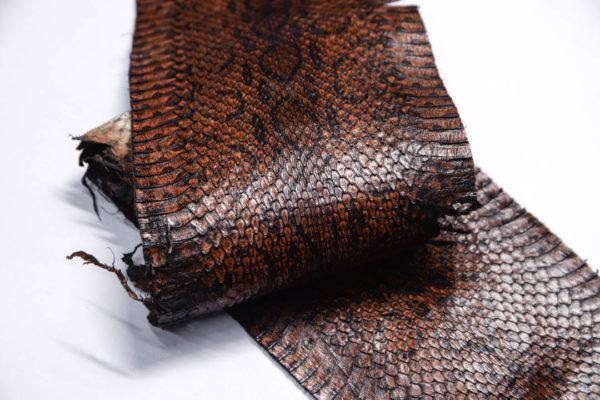 Кожа змеи, коричневая, 93х13 см.-zm4-146