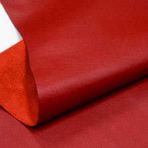 Кожа КРС, красная, 160 дм2.-D1-67