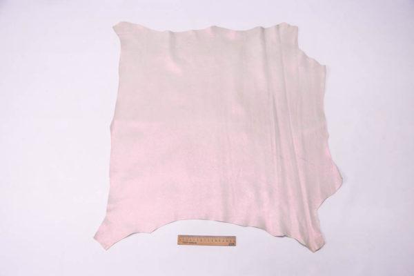 Кожа МРС, розовый перламутр, 45 дм2, Russo di Casandrino S.p.A. -109489