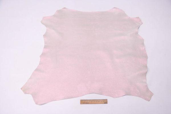 Кожа МРС, розовый перламутр, 43 дм2, Russo di Casandrino S.p.A. -109491