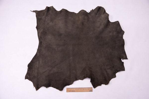 Велюр МРС (коза), темно-серый хаки, 32 дм2, Conceria Gaiera GIOVANNI S.p.A. -109492