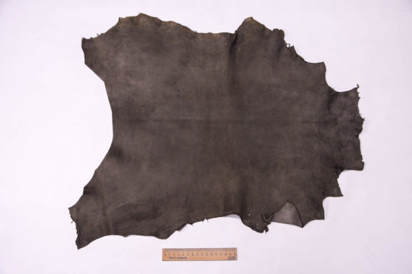 Велюр МРС (коза), темно-серый хаки, 29 дм2, Conceria Gaiera GIOVANNI S.p.A. -109493