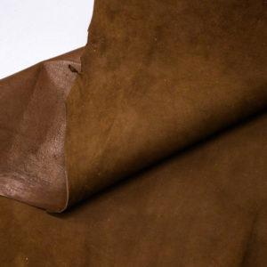 Велюр МРС (коза), коричневый, 27 дм2. -109523