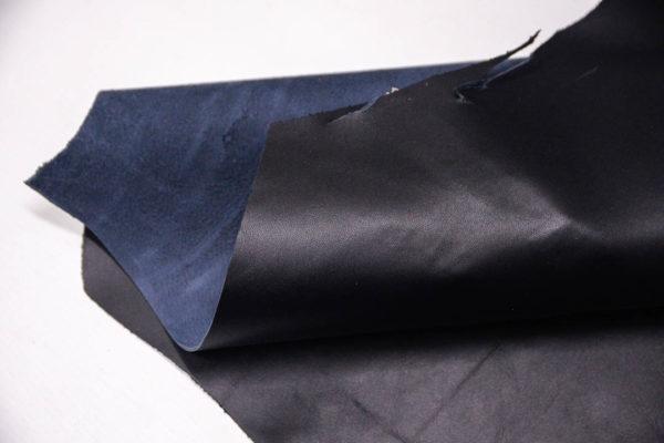 Кожа МРС, темно-синяя, 56 дм2. -109536