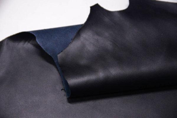 Кожа МРС, темно-синяя, 55 дм2. -109537