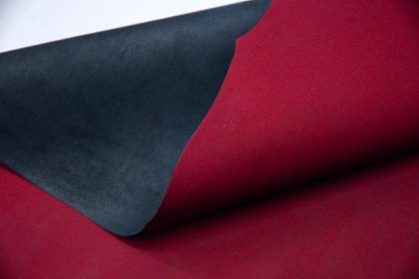 Кожа МРС, бордовая, матовая, 59 дм2. -109552