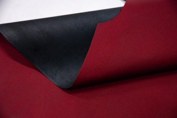 Кожа МРС, бордовая, матовая, 60 дм2. -109553