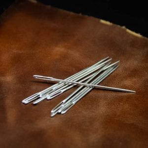 Игла для ручного шитья с большим ушком 6 см.-1155