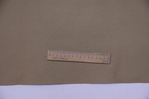 Кожа КРС, двухсторонний доллар (Dollaro), светлый хаки, 194 дм2.-109671