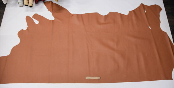 Кожа КРС, доллар (Dollaro), светло-коричневая, 189 дм2.-109676