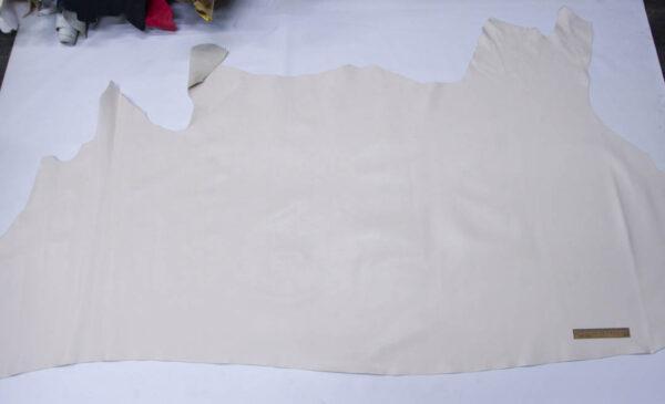 Кожа КРС, слоновая кость, 194 дм2.-PT1-17