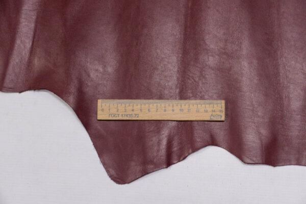 Кожа МРС (метис), бордовая, 42 дм2.-PT1-26