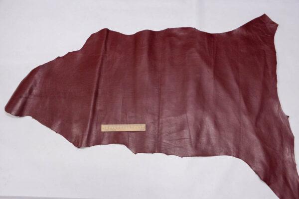 Кожа МРС (метис), бордовая, 52 дм2.-PT1-27
