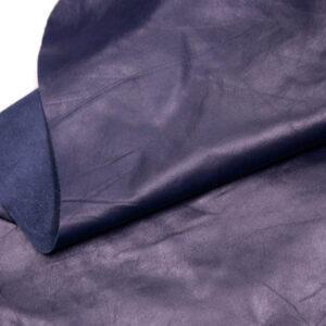 Кожа одежная КРС, синяя, 35 фут. (325 дм2)-PT1-4