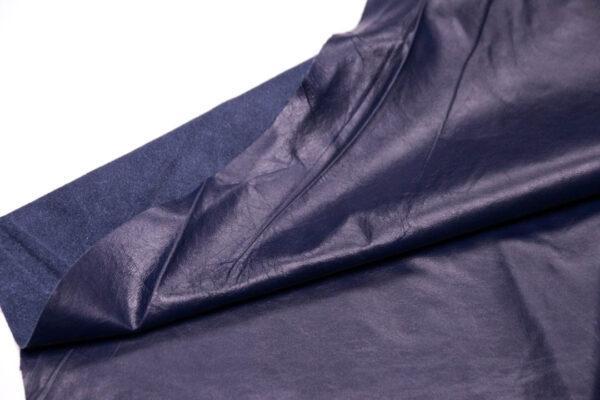 Кожа одежная КРС, синяя, 39,75 фут. (369 дм2)-PT1-5
