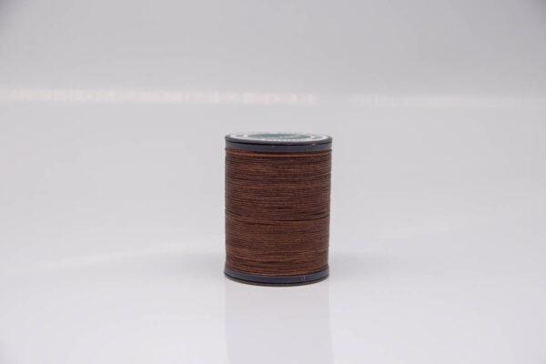 """Нить """"GALACES"""" вощеная круглая 0,55 мм. Темно-коричневая-s020"""