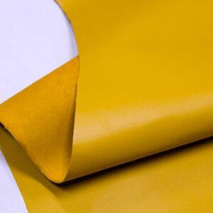 Кожа КРС, желто-горчичная, 111 дм2.- D1-100