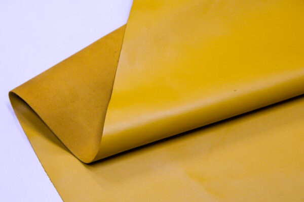 Кожа КРС, желто-горчичная, 119 дм2.- D1-104