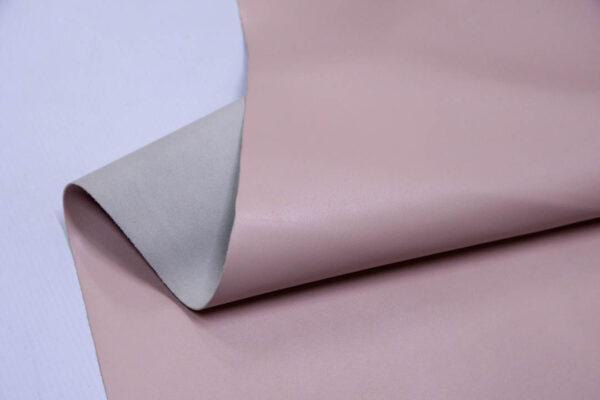 Кожа КРС, розовая, 105 дм2.- D1-106
