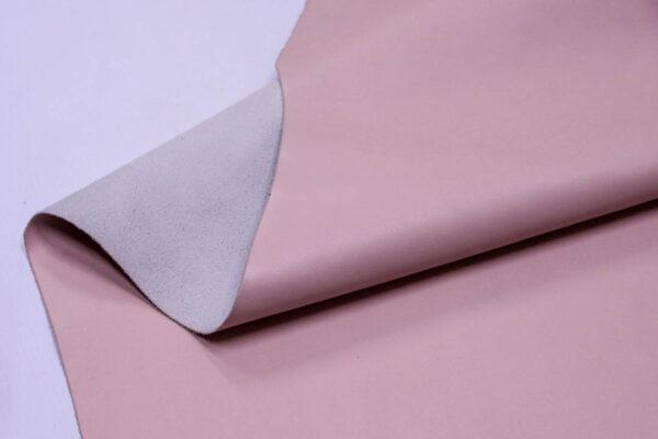 Кожа КРС, розовая, 117 дм2.- D1-107