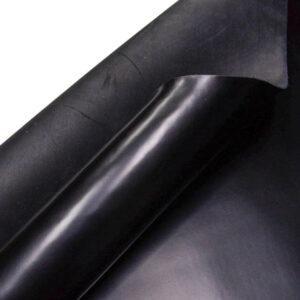 Кожа КРС ременная, черная, 196 дм2.-D1-143