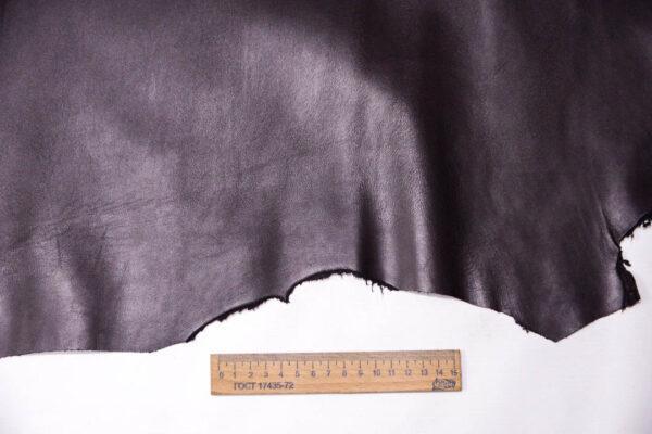 Кожа МРС, баклажан, 50 дм2, Conceria Stefania S. p. A. -109569
