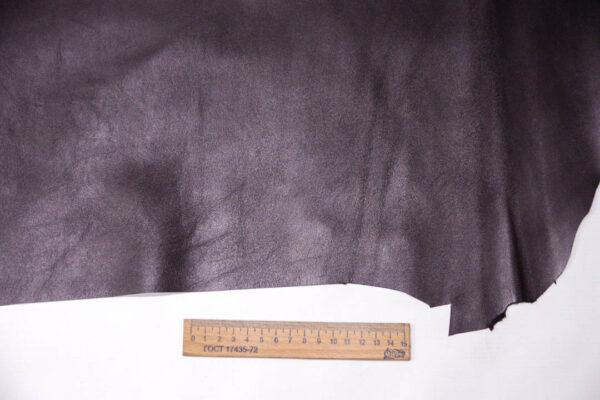 Кожа МРС, баклажан, 32 дм2, Conceria Stefania S. p. A. -109570
