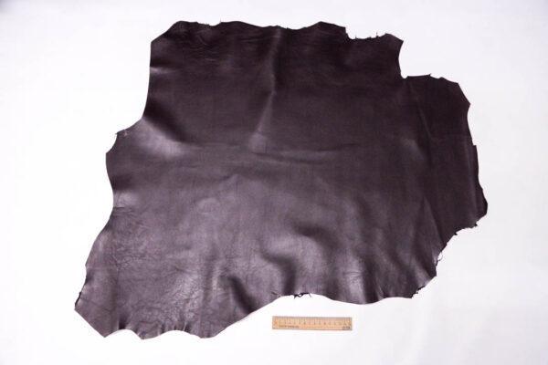 Кожа МРС, баклажан, 57 дм2, Conceria Stefania S. p. A. -109571