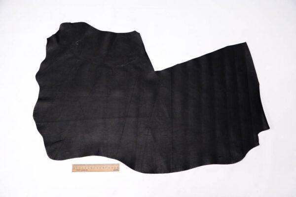 Стрейч кожа МРС, черная, 39 дм2. -109581