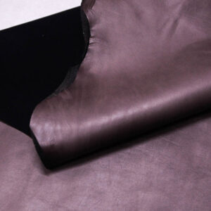 Стрейч кожа теленка, серо-розовая, 74 дм2. -109588